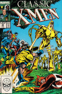 Cover Thumbnail for Classic X-Men (Marvel, 1986 series) #24 [Direct Edition]