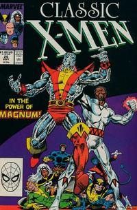 Cover Thumbnail for Classic X-Men (Marvel, 1986 series) #25 [Direct Edition]