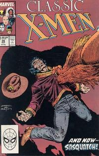 Cover Thumbnail for Classic X-Men (Marvel, 1986 series) #26 [Direct Edition]