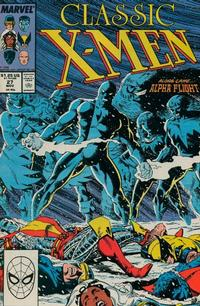 Cover Thumbnail for Classic X-Men (Marvel, 1986 series) #27 [Direct Edition]