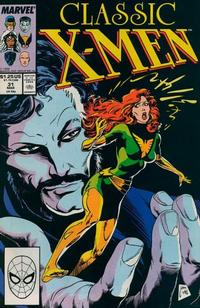 Cover Thumbnail for Classic X-Men (Marvel, 1986 series) #31 [Direct]