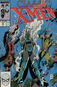 Cover Thumbnail for Classic X-Men (Marvel, 1986 series) #32 [Direct Edition]