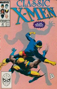 Cover Thumbnail for Classic X-Men (Marvel, 1986 series) #33 [Direct]