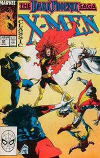 Cover Thumbnail for Classic X-Men (Marvel, 1986 series) #41 [Direct Edition]