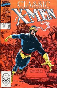 Cover Thumbnail for Classic X-Men (Marvel, 1986 series) #44 [Direct]
