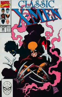Cover Thumbnail for Classic X-Men (Marvel, 1986 series) #45 [Direct Edition]