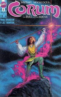 Cover Thumbnail for Corum: The Bull and the Spear (First, 1989 series) #4