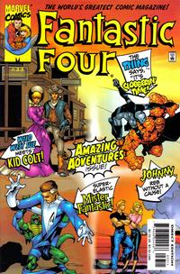 Cover Thumbnail for Fantastic Four (Marvel, 1998 series) #33 [Direct Edition]