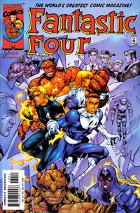 Cover Thumbnail for Fantastic Four (Marvel, 1998 series) #34 [Direct Edition]