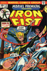 Cover Thumbnail for Marvel Premiere (Marvel, 1972 series) #15