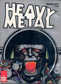 Cover Thumbnail for Heavy Metal Magazine (HM Communications, Inc., 1977 series) #v1#6
