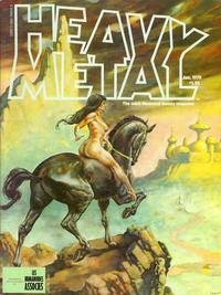 Cover for Heavy Metal Magazine (HM Communications, Inc., 1977 series) #v1#10