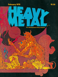 Cover Thumbnail for Heavy Metal Magazine (Heavy Metal, 1977 series) #v1#11