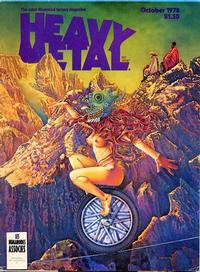 Cover Thumbnail for Heavy Metal Magazine (Heavy Metal, 1977 series) #v2#6 [Direct]
