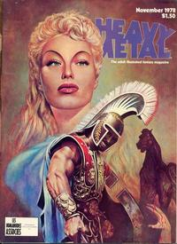 Cover Thumbnail for Heavy Metal Magazine (HM Communications, Inc., 1977 series) #v2#7 [Direct Sales]