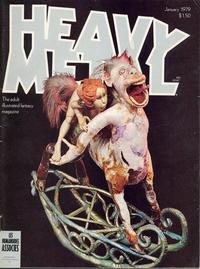 Cover Thumbnail for Heavy Metal Magazine (Heavy Metal, 1977 series) #v2#9