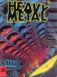Cover Thumbnail for Heavy Metal Magazine (Heavy Metal, 1977 series) #v3#2 [Direct]