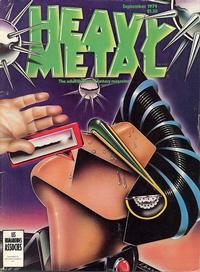 Cover Thumbnail for Heavy Metal Magazine (Heavy Metal, 1977 series) #v3#5 [Direct Sales]
