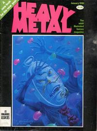 Cover Thumbnail for Heavy Metal Magazine (HM Communications, Inc., 1977 series) #v3#9 [Direct Sales]