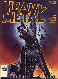Cover Thumbnail for Heavy Metal Magazine (Heavy Metal, 1977 series) #v4#1 [Direct]