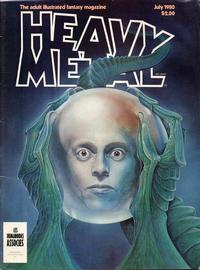 Cover Thumbnail for Heavy Metal Magazine (HM Communications, Inc., 1977 series) #v4#4 [Direct Sales]