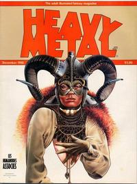 Cover for Heavy Metal Magazine (Heavy Metal, 1977 series) #v4#9 [Direct Sales]