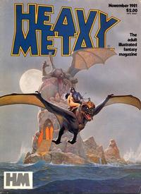 Cover Thumbnail for Heavy Metal Magazine (Heavy Metal, 1977 series) #v5#8 [Direct]