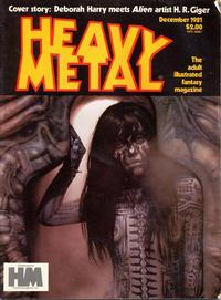 Cover for Heavy Metal Magazine (HM Communications, Inc., 1977 series) #v5#9 [Direct Sales]