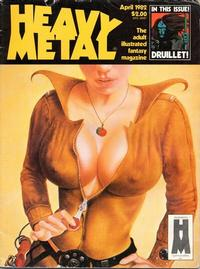 Cover for Heavy Metal Magazine (Heavy Metal, 1977 series) #v6#1