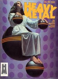 Cover Thumbnail for Heavy Metal Magazine (Heavy Metal, 1977 series) #v6#2