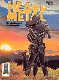 Cover Thumbnail for Heavy Metal Magazine (HM Communications, Inc., 1977 series) #v6#4