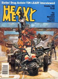 Cover Thumbnail for Heavy Metal Magazine (HM Communications, Inc., 1977 series) #v7#7