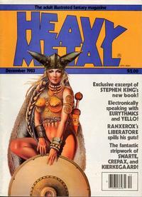 Cover Thumbnail for Heavy Metal Magazine (HM Communications, Inc., 1977 series) #v7#9