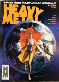 Cover for Heavy Metal Magazine (Heavy Metal, 1977 series) #v8#1