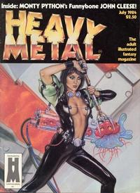 Cover Thumbnail for Heavy Metal Magazine (Heavy Metal, 1977 series) #v8#4