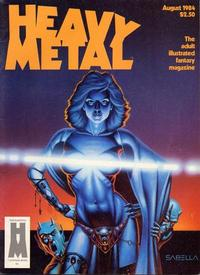 Cover Thumbnail for Heavy Metal Magazine (HM Communications, Inc., 1977 series) #v8#5