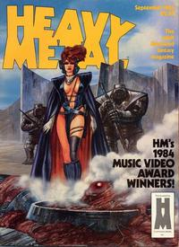 Cover for Heavy Metal Magazine (Heavy Metal, 1977 series) #v8#6