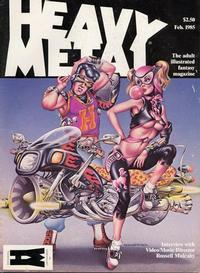 Cover Thumbnail for Heavy Metal Magazine (Heavy Metal, 1977 series) #v8#11