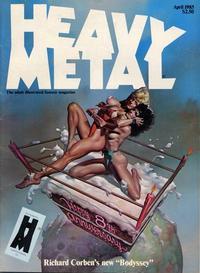 Cover Thumbnail for Heavy Metal Magazine (Heavy Metal, 1977 series) #v9#1