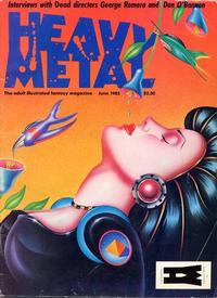 Cover for Heavy Metal Magazine (HM Communications, Inc., 1977 series) #v9#3