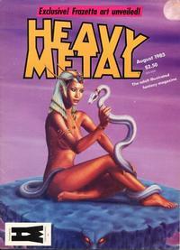 Cover for Heavy Metal Magazine (Heavy Metal, 1977 series) #v9#5