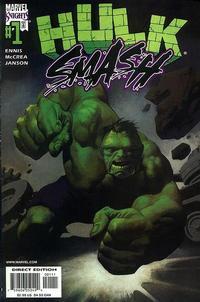 Cover Thumbnail for Hulk Smash (Marvel, 2001 series) #1 [Direct Edition]