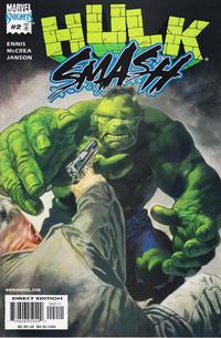 Cover Thumbnail for Hulk Smash (Marvel, 2001 series) #2 [Direct Edition]