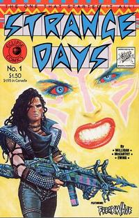 Cover Thumbnail for Strange Days (Eclipse, 1984 series) #1