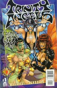 Cover Thumbnail for Trinity Angels (Acclaim / Valiant, 1997 series) #1 [Regular Cover]