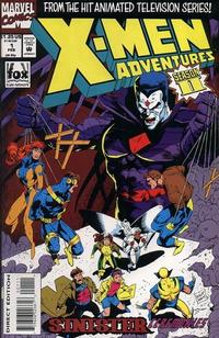 Cover Thumbnail for X-Men Adventures [II] (Marvel, 1994 series) #1 [Direct Edition]