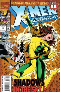 Cover Thumbnail for X-Men Adventures [II] (Marvel, 1994 series) #3