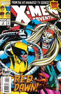 Cover Thumbnail for X-Men Adventures [II] (Marvel, 1994 series) #4 [Direct Edition]