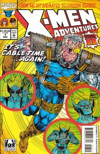 Cover Thumbnail for X-Men Adventures [II] (Marvel, 1994 series) #7 [Direct Edition]