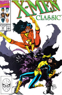 Cover Thumbnail for X-Men Classic (Marvel, 1990 series) #52 [Direct Edition]